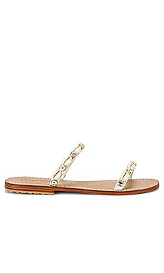 Shell Strap Sandal                     Mystique