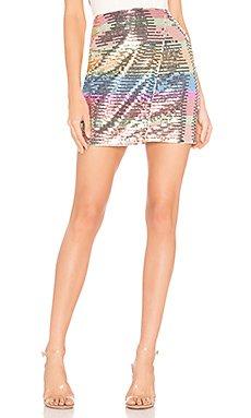 Carmen Mini Skirt                     Lovers + Friends
