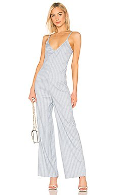 BLACK Cruise Stripe Jumpsuit                     Bobi
