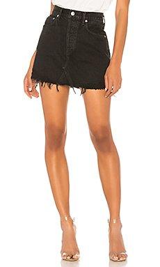 Quinn High Rise Skirt                     AGOLDE