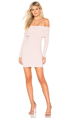 Amelie Off Shoulder Dress                     BEC&BRIDGE