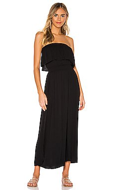 Beach Crepe Maxi Dress                     Bobi