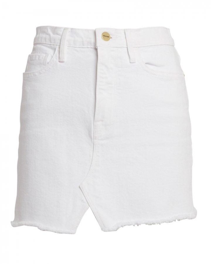 Le Denim Mini Skirt