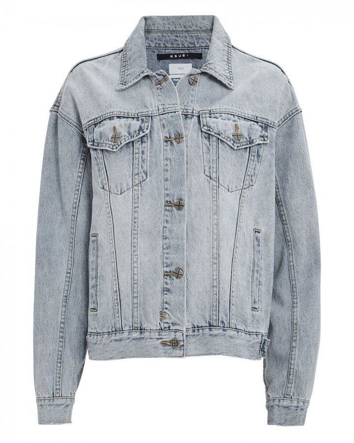 Slash Oversized Denim Jacket
