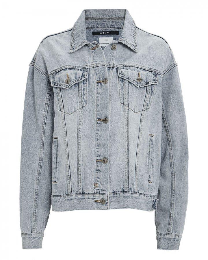 Slash Oversized Denim Jacket