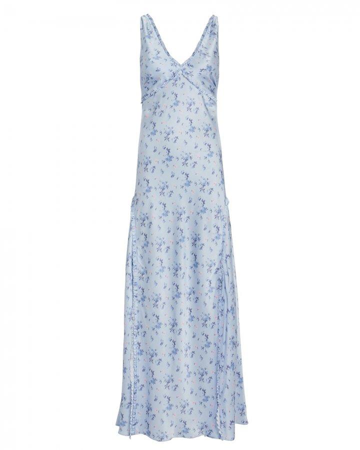Kendall Silk Floral Dress