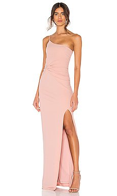 Lust One Shoulder Gown                     Nookie