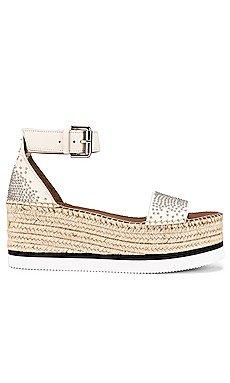 Studded Glyn Platform Sandal                     See By Chloe