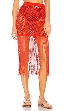 Ipanema Crochet Skirt                     Camila Coelho