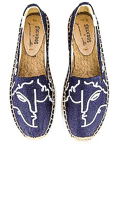 Visage Smoking Slipper                     Soludos