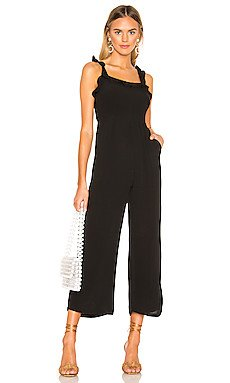 Victoria Ruffle Jumpsuit                     superdown