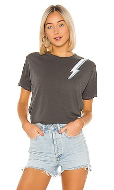 Lightning Bolt Boyfriend Tee                     David Lerner