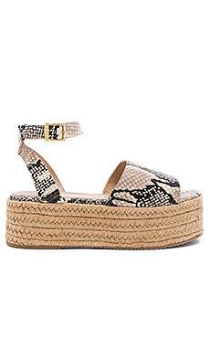 Trinidad Snake Platform Sandal                     Kaanas