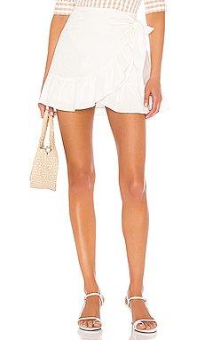 Olivier Wrap Skirt                     Cleobella