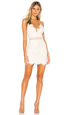 Remi Lace Mini Dress                     superdown