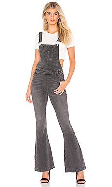 Carly Flare Overall                     Free People