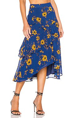 X REVOLVE Jacinda Midi Skirt                     House of Harlow 1960