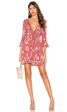 X REVOLVE Rosa Rumba Sleeved Mini Dress                     AUGUSTE