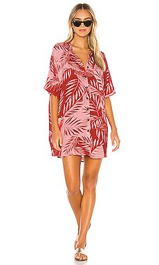 Shady Palms Dress                     AMUSE SOCIETY