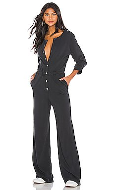 Button Down Jumpsuit                     Spiritual Gangster