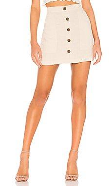 Trail Blazer Button Front Utility Skirt                     Sanctuary
