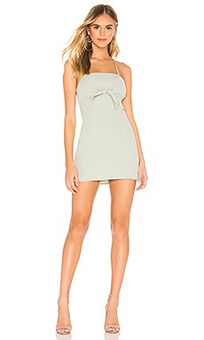 Thalia Bow Front Dress                     superdown