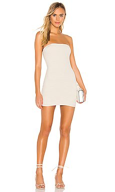 Daphne Open Back Dress                     superdown