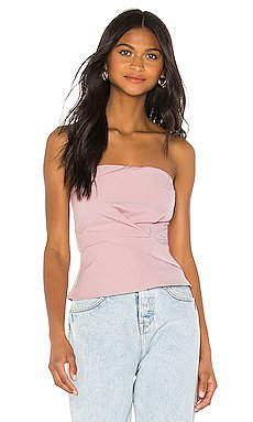 Sophy Strapless Top                     superdown