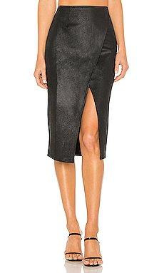 Whitney Vegan Leather Pencil Skirt                     Free People
