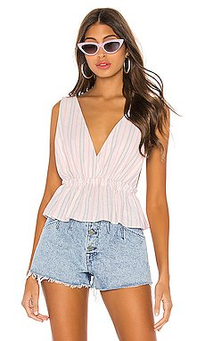 Lisa Stripe Cami                     superdown