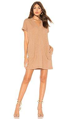 Slubbed Jersey Mini Dress                     Bobi