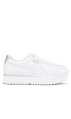 Roma Amor Leather Suede Sneaker                     Puma