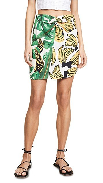 Amazonia Bossa Dual Miniskirt