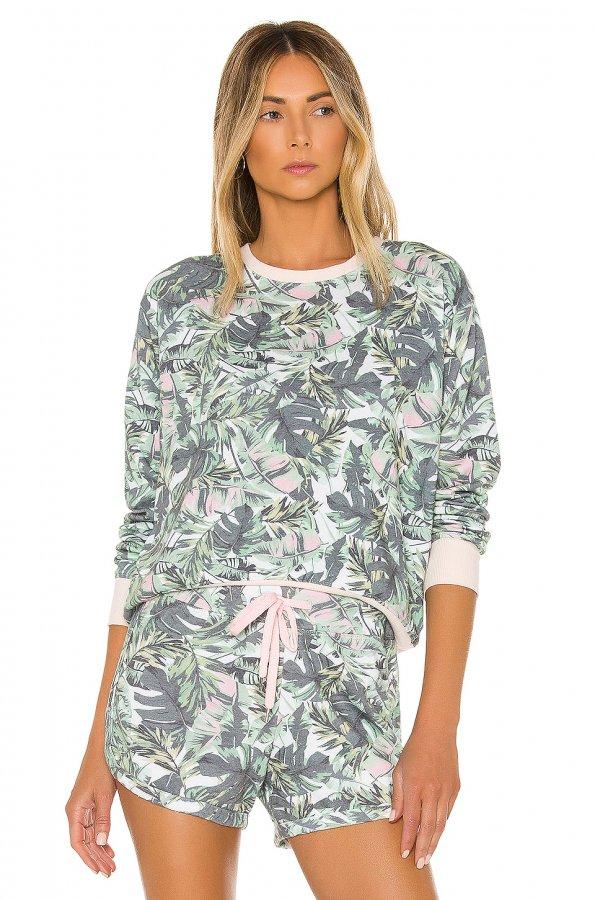 Palms Blouson Sweatshirt