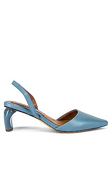 Virtue Leather Slingback Heel                     JAGGAR