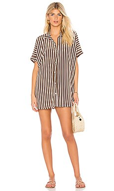 Mombasa Shirt Dress                     Acacia Swimwear
