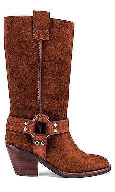 Western Knee High Boot                     See By Chloe