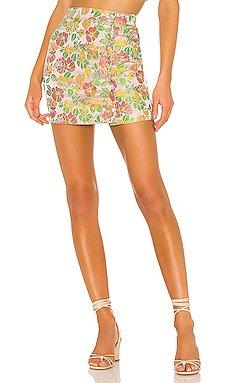 Jade Mini Skirt                     MAJORELLE