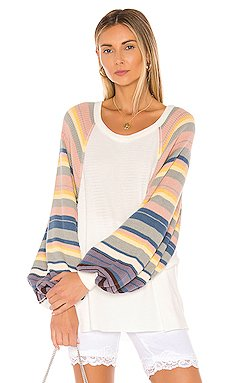 Rainbow Dreams Top                     Free People