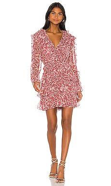 Alessia Frill Dress                     Bardot