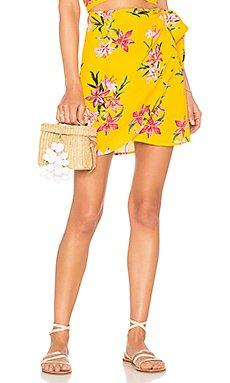 x REVOLVE Lexi Wrap Skirt                     BEACH RIOT