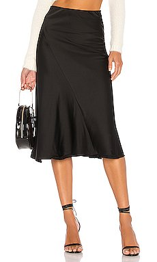 Kara Skirt In Black                     MAJORELLE