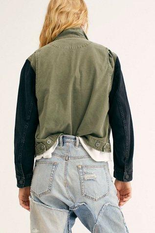 Binx Denim Utility Jacket