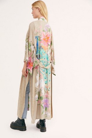 Waterfall Maxi Duster
