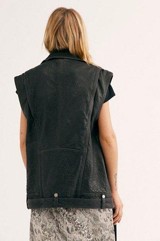 Rita Leather Vest