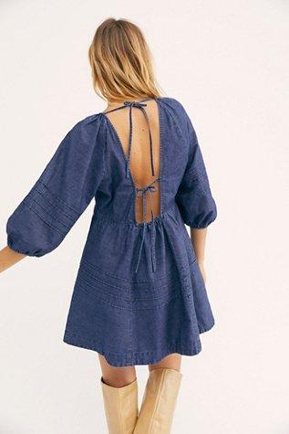 Sweet Surrender Denim Mini Dress