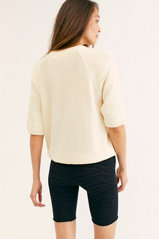 Short Sleeve Sweatshirt Sweater