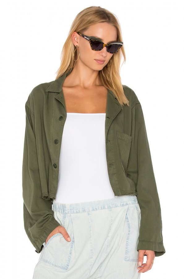 The Cropped Army Jacket