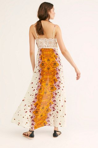 Morning Song Printed Maxi Slip