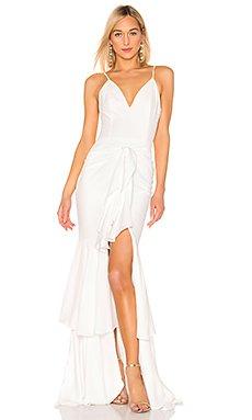 Ruffle Maxi Dress                     PatBo